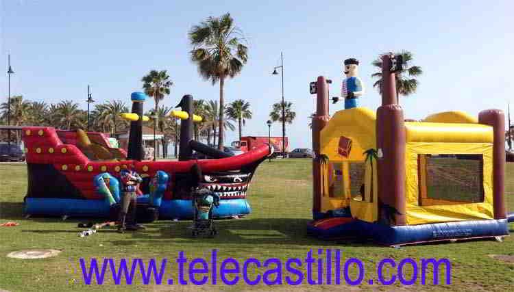 Fiestas Infantiles Pirata| Telecastillo®:castillos hinchables malaga 50 euros
