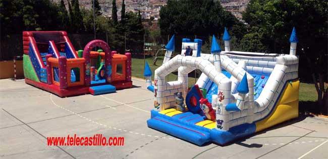 Fiestas infantiles fin de curso | Telecastillo®:Castillos Hinchables Malaga alquiler