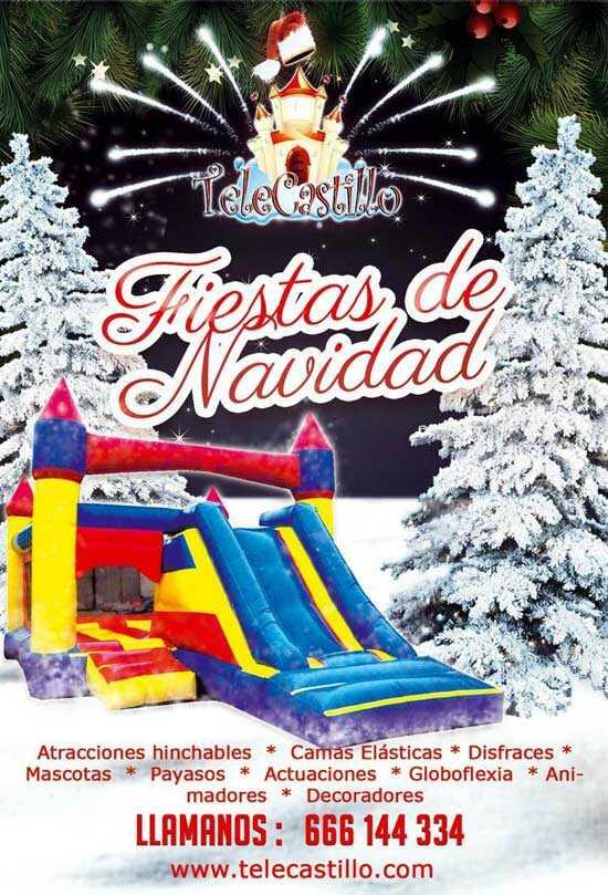 Navidad Malaga hinchables