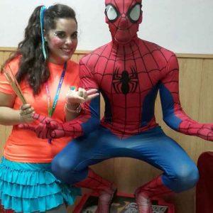 Animaciones infantiles super héroe en Malaga