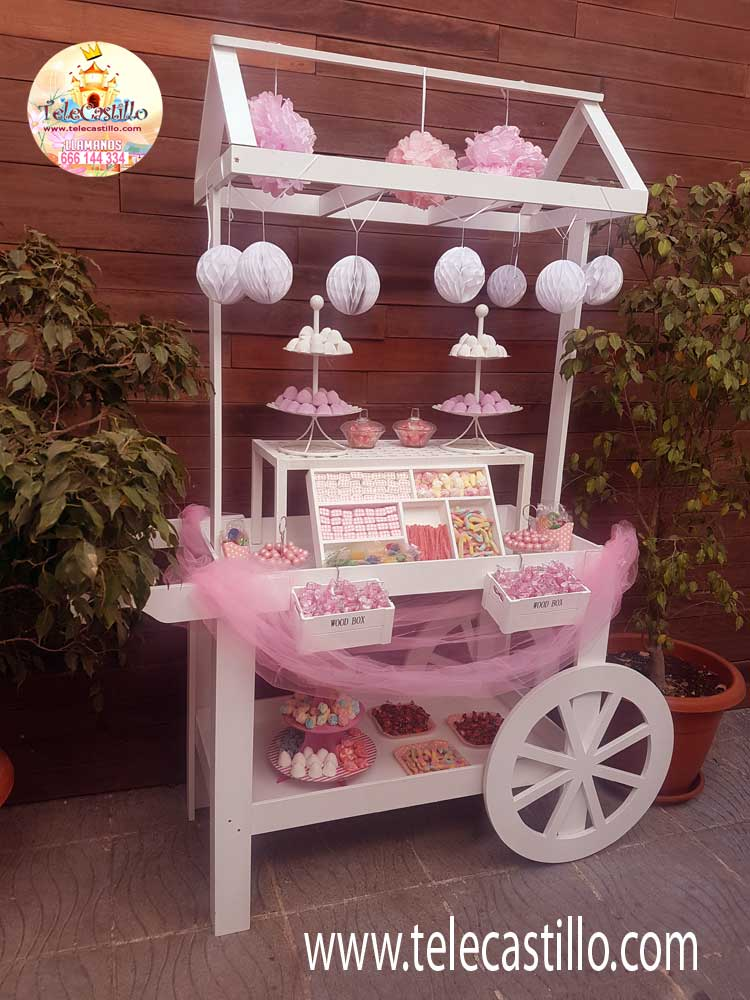 Carritos de chuches castillos hinchables malaga for Carrito de chuches