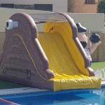 Tobogan Hinchable de piscina