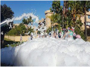 Fiestas de la espuma Malaga