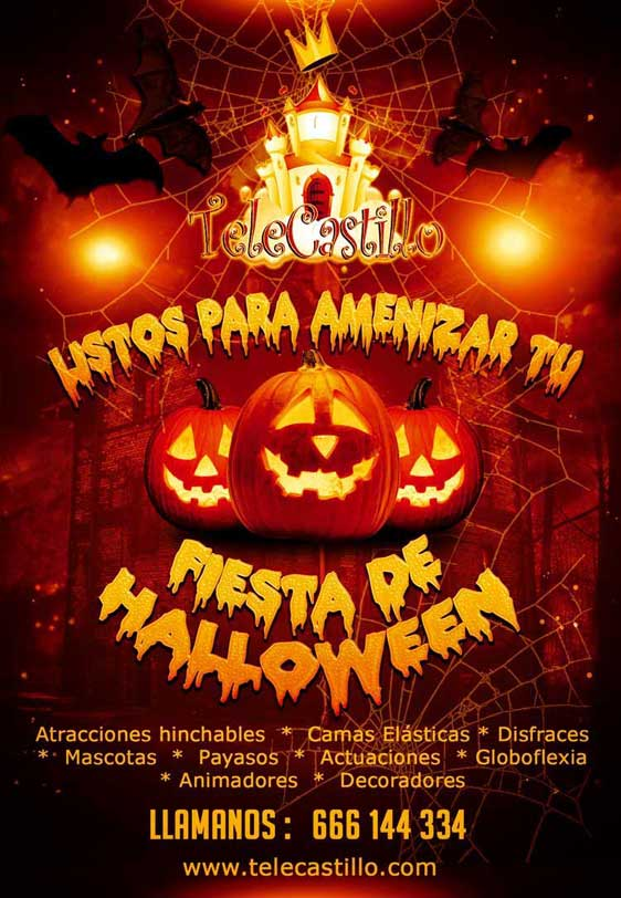 Fiestas Infantiles Halloween Malaga