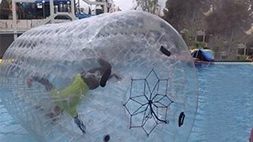 Alquiler inflables acuáticos Málaga
